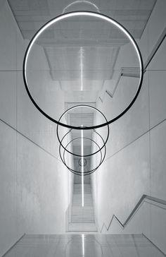 """uvre: """"Gravity Stairs, Olafur Eliasson, 2014. """""""