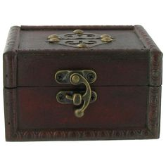 This Dark Brown Metal Medallion Flat Top Wood Box features rich, dark wood and antiqued brass accents -- perfect for holding trinkets, keys and other small item Art Craft Store, Craft Stores, Decorative Storage, Wood Boxes, Box Art, Dark Wood, Hobby Lobby, Trinket Boxes, Antique Brass