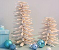 starfish christmas trees