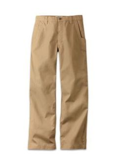 Mountain Khakis Yellow Mens Original Mountain Pant Relaxed Fit