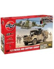 Airfix A50123 British Forces - Patrol and Support Group Gift Set