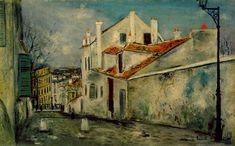 La casa de Mimi Pinson, Maurice Utrillo