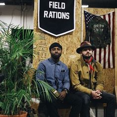 2nd day veterans @fleastyle. 📷by the talented @raat_fashion. A good look at our collaboration banner with @oxfordpennant. Mid-century bench collaboration with @sunscout_studio. Pretty much my new favorite 🎞... #photography #popup #fleastyle #streetwear #streetstyle #rrl #ralphlauren #supreme #hypebeast #complex #gq #ootd #bandana #indigo #leather #woodworking #midcenturymodern #dallas #texas #oklahoma #libertyfairs #capsule #runway #lookbook #model #designer #interiordesign #succulents…