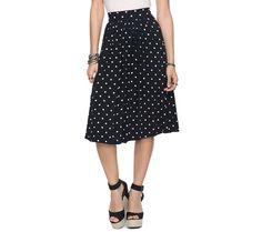Polka Dot Swing Skirt... http://www.thebudgetfashionista.com/wp/wp-content/uploads/2012/06/Polka-Dot-Swing-Skirt.jpg