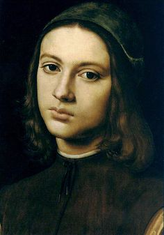 Perugino - Portrait of a young man - Florence