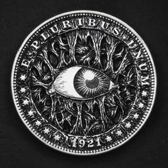 Double-Sided-Hobo-Nickel-Death-Will-Come-and-Will-Have-Your-Eyes-Morgan-Dollar