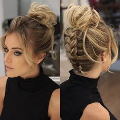 Let's Party: Beauty Inspirations For Holiday Party Night – Lupsona - frisuren - Wedding Hairstyles Box Braids Hairstyles, Party Hairstyles, Cool Hairstyles, Gorgeous Hairstyles, Hairstyle Ideas, Romantic Hairstyles, Wedding Hairstyles, Simple Braided Hairstyles, Fringe Hairstyle