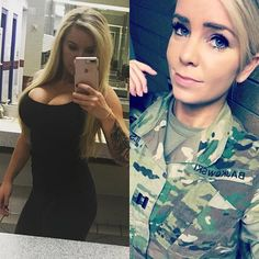 this is a great looking lady in army i just love been close to security to stay . this is a great looking lady in army i just love been close to security to stay self Source by akpuzee. Mädchen In Uniform, Female Army Soldier, Military Women, Women Marines, Military Girl, Girls Uniforms, Lady, Costume, Beauty