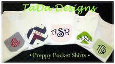 Shirts for Boys or Girls with Appliqued Pockets by TaDaDesignsInc, $19.00