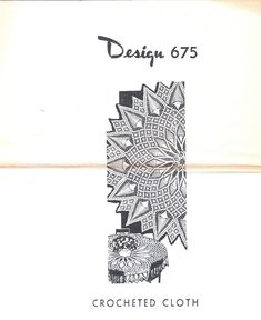 Vintage Crochet Pattern for 675 Pineapple Cloth Doily Table Topper Tablecloth 2 Sizes PDF INSTANT DOWNLOAD Diy Crochet Tablecloth, Pineapple Crochet, Row By Row, Table Toppers, Bedspread, Vintage Crochet, Doilies, Crochet Patterns, Pdf