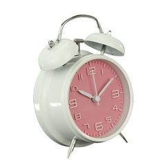 Fashion Twin Bell Desk Backlight Bedside Alarm Clock with Backlight, Silent, 4-inch,Loud Alarm (pink), http://www.amazon.com/dp/B00KHOTOIS/ref=cm_sw_r_pi_awdm_uBhZub117Q7DF