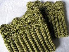 Ravelry: Belmont Boot Toppers pattern by Jenn Wolfe Kaiser