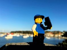 """Time for a selfie at Ulladulla Harbour. """"If you could take a selfie of your soul would you find it attractive enough to post?"""" #vsco #vscocam #instagram #nofilter #photooftheday #instagramers #lego #legos #afol #instalego #legostagram #legoart #legofan #legominifigures #legophotography #bricknetwork #legomania #legohub #minifigures #minifig #legophoto #legography #lego365 #igers #instagood #australia #sydney #newsouthwales #ulladulla by andrewyeap"""