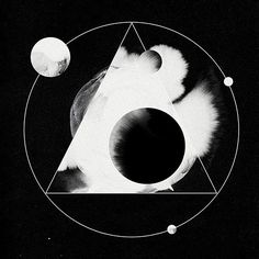 planets, triangle, occult