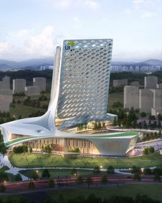 LH headquater in Jinjoo, South Korea, by Mooyoung