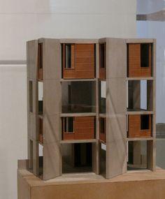 Salk Institute, Study Tower by Louis Kahn