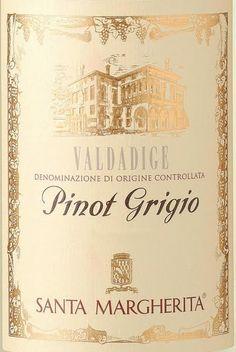 Santa Margarita Pinot Grigio...My Drink of Choice ALWAYS.....