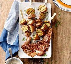 Aardappelspiesjes voor op de bbq of grill! Super snel, super simpel en zo lekker!