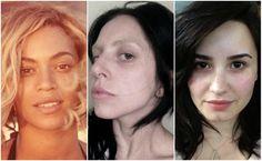 Beleza verdadeira? Confira como ficam 20 estrelas internacionais sem maquiagem >> http://glo.bo/1gh0BUa