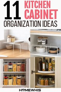 Tired of Cluttered kitchen & can't find space to store your things? Discover these 11 insanely popular kitchen countertop organization ideas from homewhis today! Our Blog post features ideas for countertop organization, declutter and organize, home organization, making it a great place to find inspiration even for kitchens with small spaces. Visit the blog now to find inspiration and ideas for your kitchen. #organization #homeorganization #kitchenorganization #countertoporganization