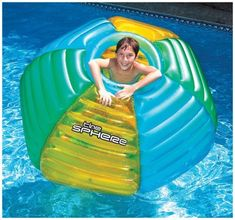 #beachaccessoriesstore Swimline The Sphere Floating Habitat Pool Float: We are currently presenting the excellent… #beachaccessoriesstore