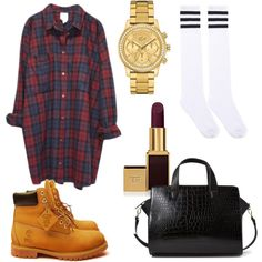 """Timberland: the """"Original Yellow Boot"""" has long been a popular American icon, the classic look has been copied by many, but never really duplicated. Timbs Outfits, Swag Outfits, Dope Outfits, Casual Outfits, Fashion Outfits, Timberlands, Women's Fashion, Fall Winter Outfits, Autumn Winter Fashion"""