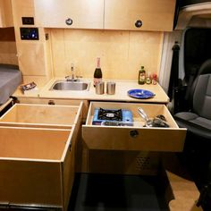 The 5 Best Affordable RVs and Camper Vans for Sale Kitchen Box, Van For Sale, Portable Toilet, Cargo Van, Butcher Block Countertops, Mercedes Sprinter, Rv Campers, Good Company