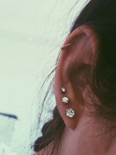 SALE Rook Piercing - Tragus Piercing - Helix Piercing - Cartilage Piercing - Oak Leaf Charm - Rook Jewelry - Choose Your Style - Custom Jewelry Ideas Ear Jewelry, Jewelry For Her, Cute Jewelry, Jewelry Ideas, Boho Jewelry, Beaded Jewelry, Silver Jewelry, Jewellery, Crystal Earrings