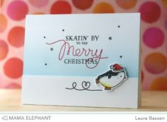 mama elephant | Stamp Highlight - Jolly and Merry & Arctic Penguin