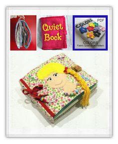 """Малки вълшебства: Как да си направим """" Тиха книжка """" ( quiet book )?..."""