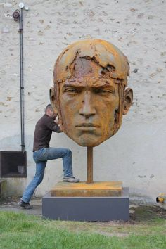 Sculptures de Christophe Charbonnel |Blog Graphiste / Sculptures, photos, Ver  Vie….