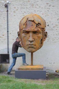 Sculptures de Christophe Charbonnel  Blog Graphiste / Sculptures, photos, Ver & Vie….