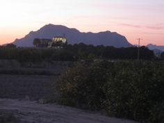 Callosa mountain and Algorfa church - been here
