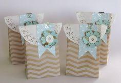 zeit-zum-basteln.de - Geschenktütchen - Flowershop - Buttons Simply Pressed