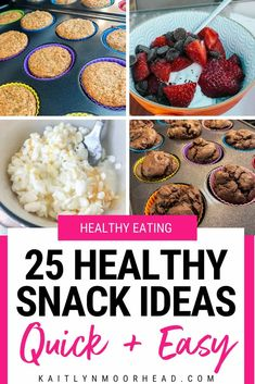 25 Healthy Snack Ideas [Quick   Easy] Healthy School Snacks, Healthy Toddler Snacks, Healthy Sweet Snacks, Healthy Recipes On A Budget, Healthy Meals For Kids, Healthy Breakfast Recipes, Easy Snacks, Quick Easy Meals, Whole Food Recipes