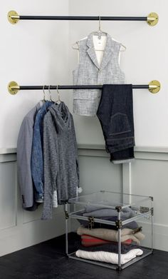 Unique Bar to Hang Clothes On