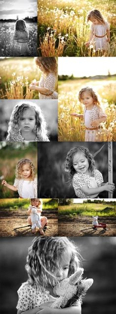 Little girl photography