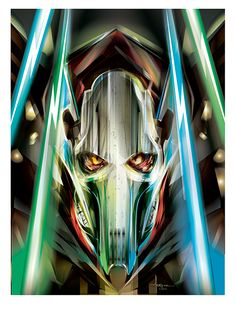 GRIEVOUS- Vector art Star Wars tribute by Orlando Arocena mexifunk on Behance