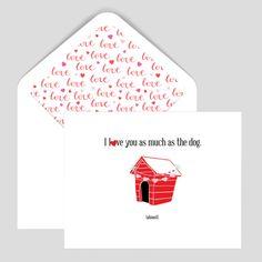 Funny Dog Card