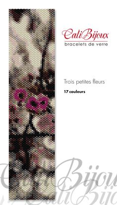 PATRON : Trois petites fleurs