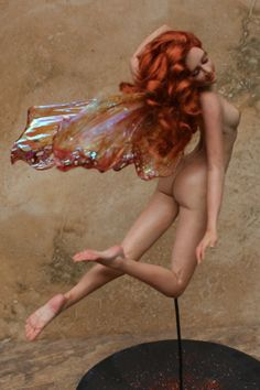 ooak fairy art doll handmade Melissa Drapeau