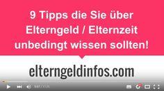 http://elterngeldinfos.com/  Tipps zur Elternzeit