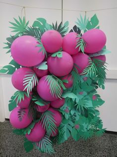 50 Y Fabuloso, Havana Nights Party, Wild One Birthday Party, Luau Birthday, Paper Crafts Origami, Balloon Decorations Party, Photo Booth Backdrop, Tropical Party, Backdrops