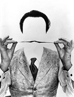 Weird & Wonderful Wednesday: Dalí, by Philippe Halsmann (1954).