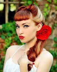 Bildergebnis für rockabilly hairstyle women