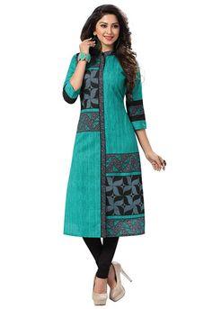 3b4afff612 Ishin Women's Cotton Dress Material Kurti, Salwar Kameez, Edwardian Dress,  Wedding Fabric,