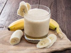 Morning Buzz Smoothie  http://atwbp.com/1248/morning-buzz-smoothie/    This is a hearty shake that will keep you full all morning - great for an on the go breakfast.  1 cup Silk Light Vanilla Soymilk 1/2 cup coffee 1 frozen banana 1/4 cup quick oats, dry 1 Tbsp ground flax 1-2 tsp cinnamon Stevia if desired  Blend all ingredients until smooth...