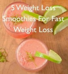 5 Great Weight Loss Smoothies - watermelon and chocolate sound appetizing