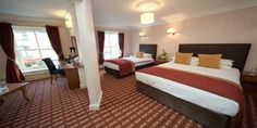 Enjoy the comfort of a stunning hotel in the heart of Ballina Town with stunning views of the River Moy. All rooms equipped with TV's and Complimentary WiFi throughout the hotel. Hotel Breaks, Executive Room, Bridal Suite, Beautiful Hotels, How To Make Bed, Dream Rooms, 4 Star Hotels, Family Room, Bedroom