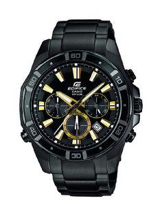 Casio Herren-Armbanduhr Analog Quarz Resin EFR-534BK-1AVEF - http://on-line-kaufen.de/casio/casio-herren-armbanduhr-analog-quarz-resin-efr